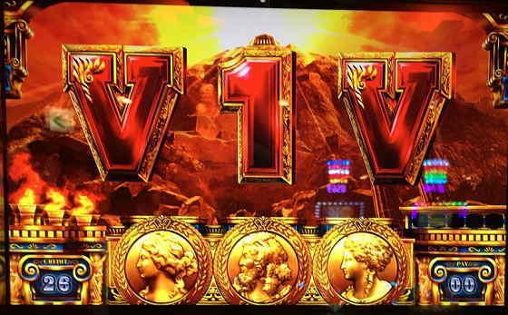 ミリオンゴッド神々の凱旋V1V