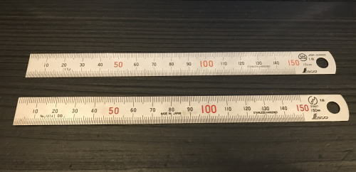 amazonレビュー用具の直尺